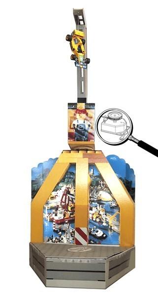 Ce produit lego est animé par le modèle Multimoteur MSR 010