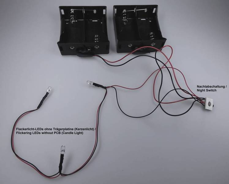 LED bougie (autonomie 3 mois)